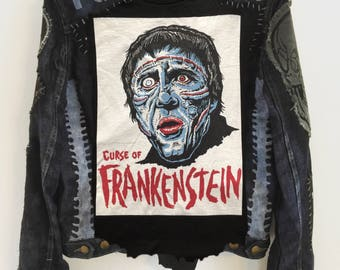 The Curse Of Frankenstein jacket by Chad Cherry