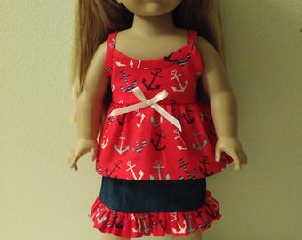 """18"""" doll 2 pc. Outfit"""
