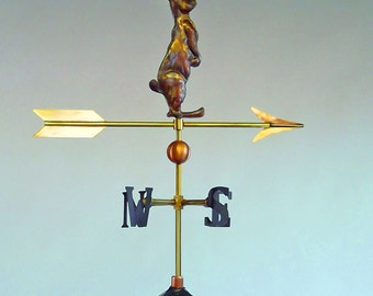 La Petite Curious Rabbit Weathervane