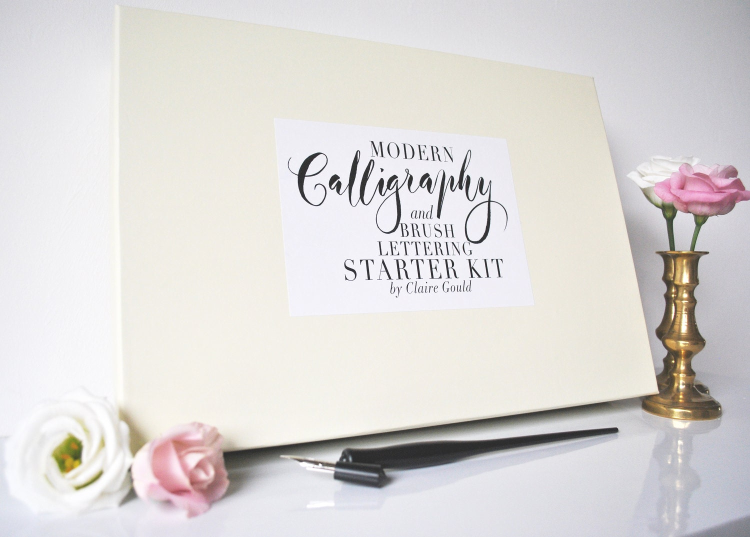 modern calligraphy starter kit By Moon and Tide