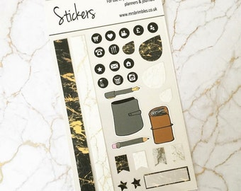 Marble Planner Stickers
