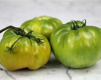 VTH) EMERALD Apple TOMATO~Seeds!!!~~~~Big Beauty!