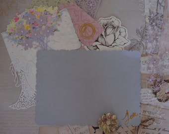 Handmade Scrapbook Page - To Have and to Hold