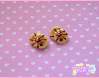 Puncake brooch sweet and kawaii