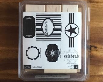 Stampin' UP! Labelicious  - FREE SHIPPING!