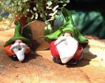 Small Ceramic Gnome