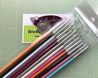12 pc Fine Tip Paint Brush set