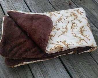 Dinosaur Baby Blanket | Science | Paleontology | Toffler Blanket
