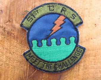 Vintage Air Force  Patch - 1960's USAF Patch - Aviator Patch - 107th Fighter Interceptor Group