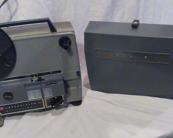 Vintage Anscovision 388 Dual Super 8 and 8mm Projector