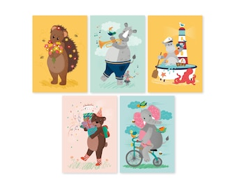 Cards | Set 2 of 5 cards