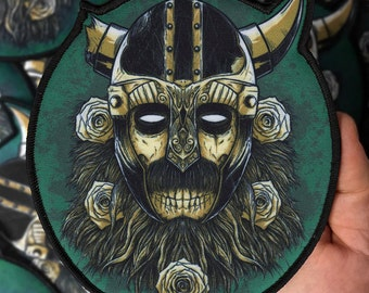 The Norseman Large Printed Patch