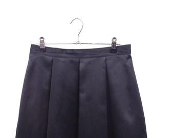 Midnight Black Skirt - Small Medium
