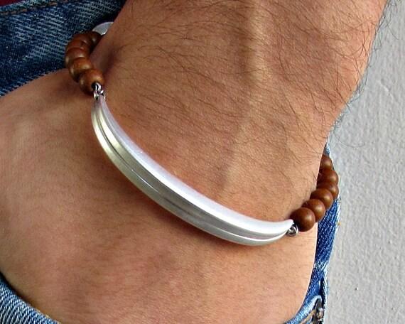 Mens Womens Gemstone Bracelet, Unisex Bead Bracelet, Gift For Her, Gift for Him, Customized On Your Wrist