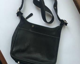 Black Coach shoulder bag, vintage
