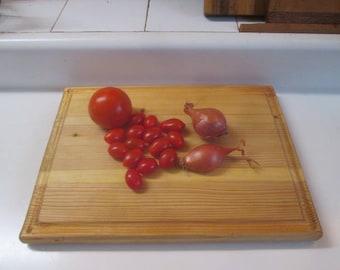 Butcher Block Cutting Board/Pine Cutting Board/Pine Butcher Block/Small Cutting Board/Handmade Cutting Board/Natural Cutting Board/Handmade