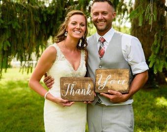 Thank You Wedding Signs / Thank You Sign / Wedding Decor / Wedding Signs