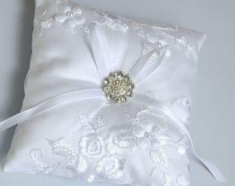 ring bearer pillow, Wedding ring pillow, wedding pillow, bridal pillow, wedding cushion, bridal cushion
