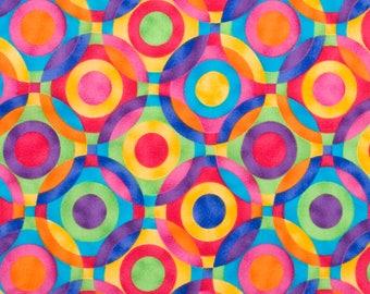 Retro Fabric by the Yard Quilt Geometric Nursery Art