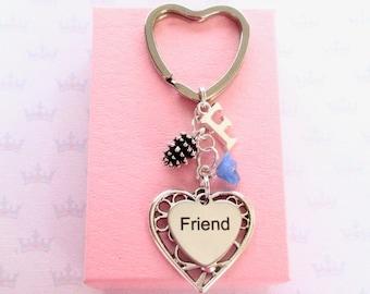 Friendship keychain - Fir cone keychain - Birthday gift for friend - Forest gift - Friendship keyring - - Pinecone keyring - Nature gift UK