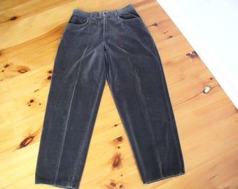 Ralph Lauren Vintage Velvet Olive  Green Jeans