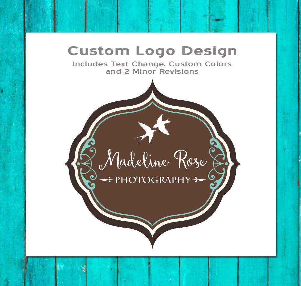 Custom Logo Design Photography Logo Premade Logo Logo