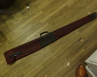 Leather Shotgun Slip Case