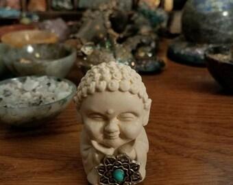 Lotus buddha figurine