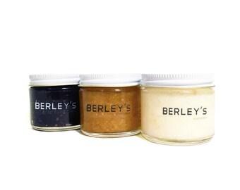 BERLEY'S Travel Gift Set | Moisturizing Body Scrub