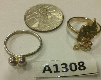 Vintage Ring Lot A1308