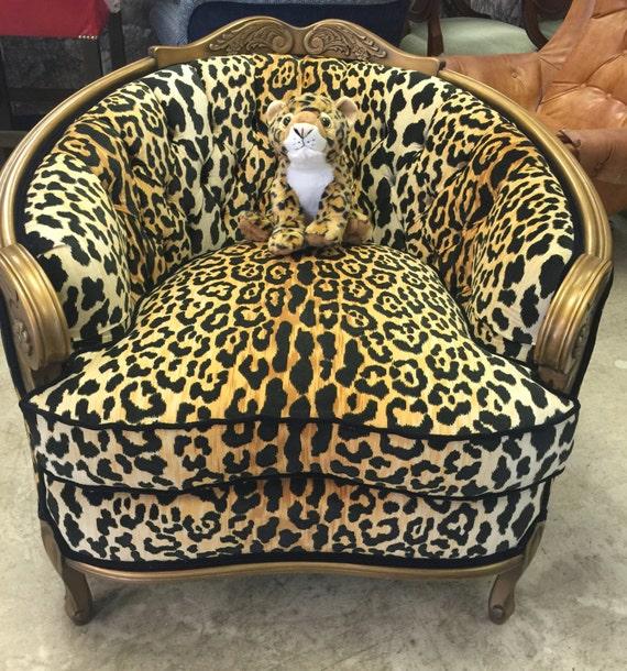 Velvet Cheetah Designer Fabric Hollywood Gold Leopard
