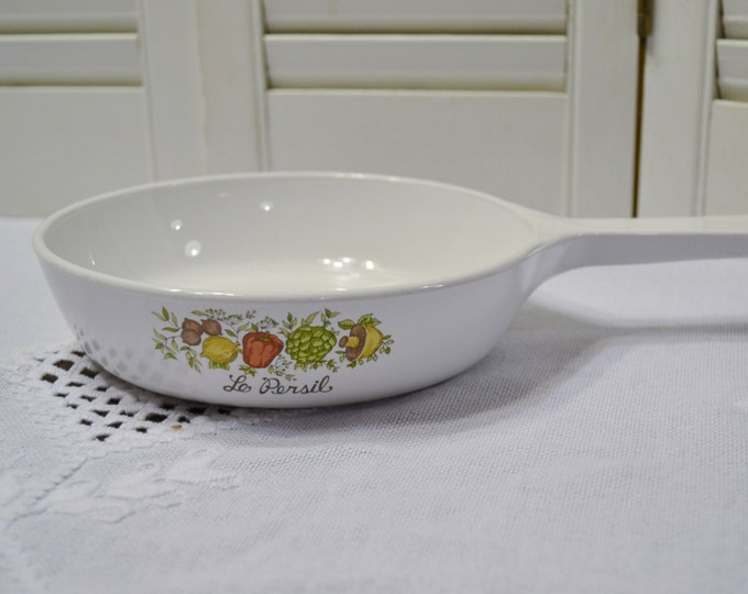 Vintage Corning Ware Spice of Life Saucepan Skillet Le Persil P 83 B Retro Kitchen Cookware PanchosPorch