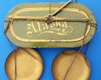 Antique Henry Troemner Pocket Gold Scale Scales Klondike Alaska
