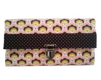 Large wallet ladies purse wallet