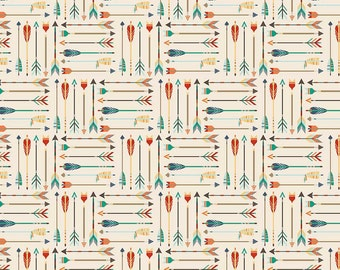 High Adventure - Arrow Cream by Design by Dani for Riley Blake Designs, 1/2 yard, C5551-Cream