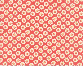 Coney Island - Cotton Blossoms Red by Fig Tree for Moda, 1/2 yard, 20281 12