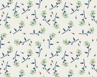 Reminisce - Freshly Picked Mint by Bonnie Christine for Art Gallery Fabrics, 1/2 yard, RMS-1507