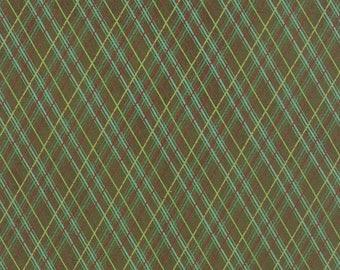 Juniper Berry - Workshop Green by Basic Grey for Moda, 1/2 yard, 30438 13