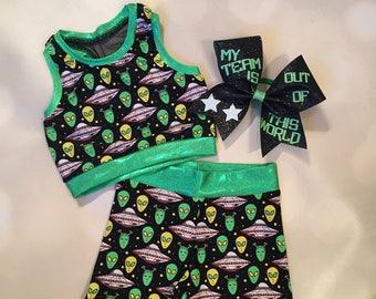 db54310ef9b75 Alien bra etsy jpg 340x270 Emoji crop top bow