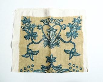 Linen Tea Towel, Vintage Tea Towel, 1960s, Kitchen Towel, Vintage Linens, Linen Towel, Linen Hand Towel, John L Gieroch