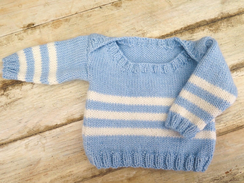 Knitting pattern envelope neck sweater 6 sizes baby zoom bankloansurffo Images