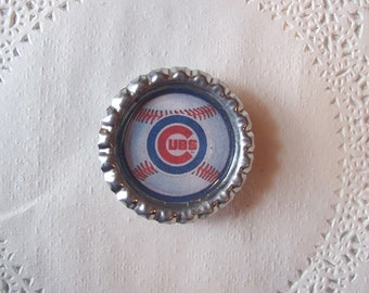Chicago Cubs Magnet (63) - Cubs Refrigerator Magnet - Chicago Cubs Office accessories - sports magnet