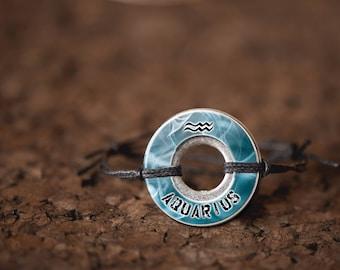 Aquarius Washer Bracelet