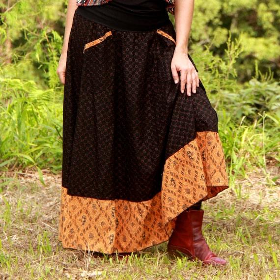 Afro Skirt - Broderie Java