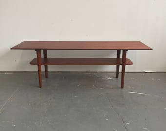 Vintage Danish Modern Teak Coffee Table - 465 OBO - Free NYC Delivery!