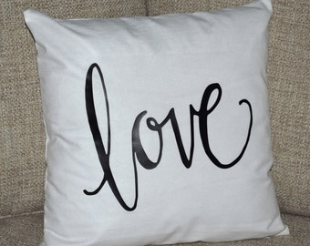 Love pillow cover, Valentine's Day