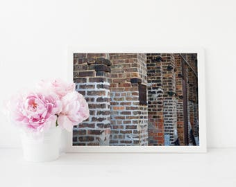 Bricks Fine Art Print