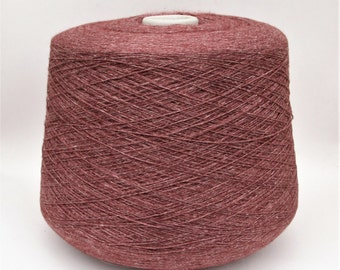 Cashmere/cotton yarn on cone, per 100g