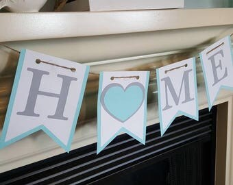 Home banner with a heart