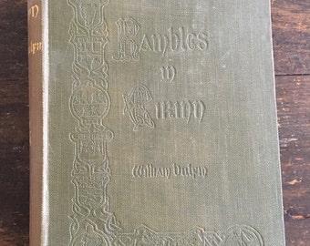 1920 Rambles In Eirinn by William Bulfin / Seventh Impression / Printed in Dublin, Ireland / M. H. Gill & Son Ltd. / Illustrations + Maps